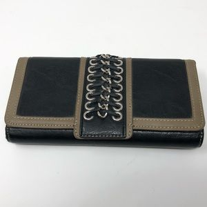 Nicole Lee Trifold Wallet Chain Corset